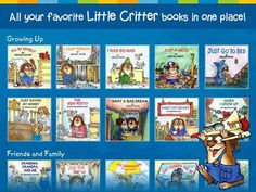 Little Critter Library - a set of about 34 books from the Little Critter series by Mercer Mayer. Appysmarts score: 95/100!