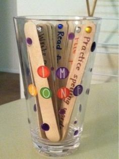 """Make an """"I'm Done!"""" cup so that early finishers aren't bored. 