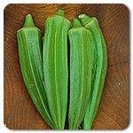 Organic Clemson Spineless 80 Okra