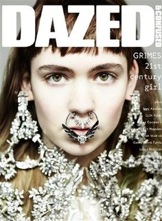 #DazedandConfused April issue - Grimes 21st Century Girl wearing Givenchy Haute Couture by Riccardo Tisci