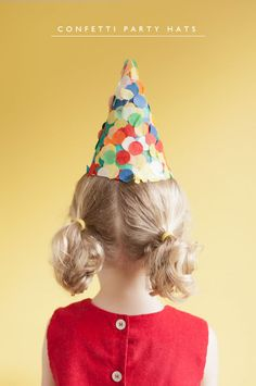 Confetti Party Hats DIY | Oh Happy Day!