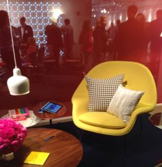 The @Katherine Knoll Design showroom drew crowds once again for NeoCon 2014. Hard to say what's more exciting: the people or the product!