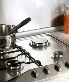 How to clean baked-on stains suck onto a stovetop.