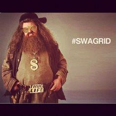 """Yer a gangsta, Harry..."""