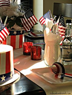 Memorial Day Ideas by redheadcandecorate.com