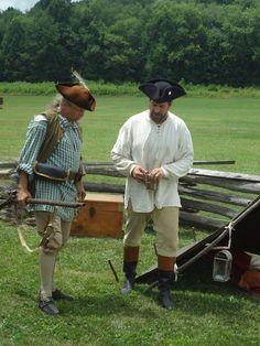 Proctor's Militia members #HistoricHannasTown #Greensburg #PA #colonial #history
