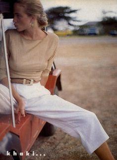 Rachel Williams Vogue May 1987