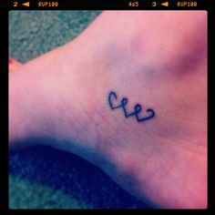 Heart friendship tattoos
