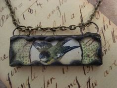 FLY  Soldered Glass Art Pendant or Charm by victoriacharlotte, $19.50