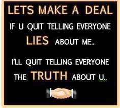people who can't handle confrontation quotes | Some people just can't handle the truth!