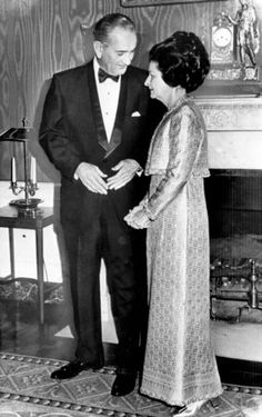 1965 Lady Bird Johnson's inaugural gown