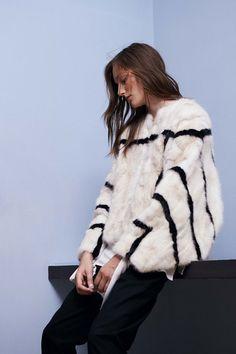 metropolitanh: . fur black and white