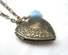 A beautiful piece of jewelry! I ordered this for my daughter for Christmas. It came very quickly, the shop owner was so sweet, and the product is awesome. Oh... and the price is right! :) lockets, heart, necklaces, classic jewelri, antiques