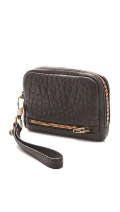 perfect clutch, larg wristlet