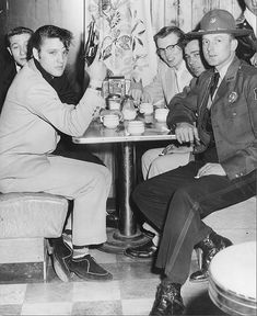Elvis and the Blue Moon Boys, Arkansas March, 1955 by Railroad Jack, via Flickr