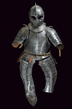 A composite cavalry half armour, France, early 17th century.