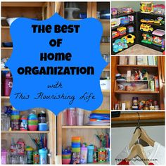 The Best Of Home Organization http://www.thisflourishinglife.com/2013/01/the-best-of-home-organization.html