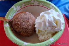 Arkansas State Fair Food Preview - Fried Peaches & Cream