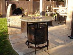 AZ Backyard Custom - Fire Pit Tables