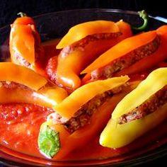 Bob's Stuffed Banana Peppers Allrecipes.com