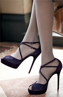 jimmy choo strappy pumps. #shoeporn