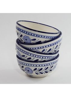 Here to make your morning cereal more stylish: Le Souk Ceramique Azoura Cereal Bowls