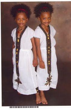Ethiopian beauty x 2!