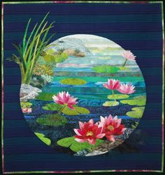 Gardens of Dreams: the art quilts of Vyvyan Emery