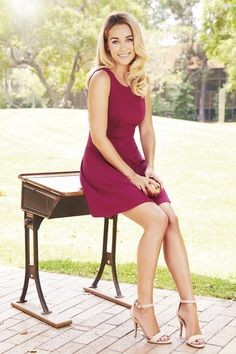 Super flattering on everyone, fit-and- flare dresses are an absolute must. LC Lauren Conrad at #Kohls