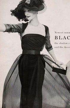 Ceil Chapman dress 1956