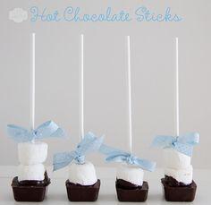 Hot Chocolate Sticks