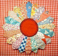 vintage patchwork hotpad