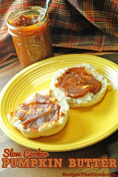 Slow Cooker Pumpkin Butter. So good! #CrockPot