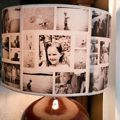 DIY Photo Lamp Shade