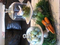 Villa Stoneware, glass domes and Covington tray-- The Villa Stoneware is going to retire, last chance!  www.southerninspiration.willowhouse.com...picture by Linda Burt- Gorgeous!