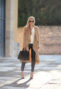 Oh My Vogue: The duster coat