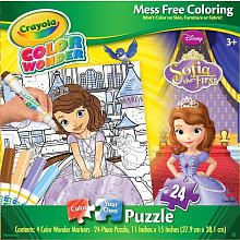 Crayola Color Wonder Girls Puzzle - Sofia the First