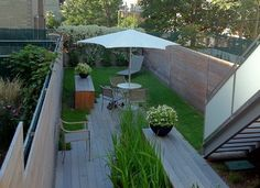 A Park Slope Modern - contemporary - patio - new york - Little Miracles Designs