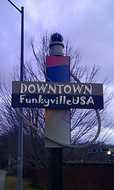 Asheville, NC ... downtown sign!