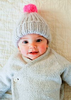 Super Simple Super Soft Merino Baby Hat - the purl bee
