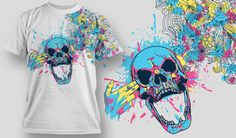 I put together for your design inspiration today a collection of the coolest and most sold T-shirt designs made by the talented team from Designious. They contain the usual – skulls, dragons, elements from Chinese mythology, tigers, birds, kick-ass florals and more.