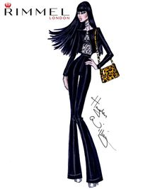 The last #LFW look for @rimmellondonuk inspired by the Tom Ford show last night.