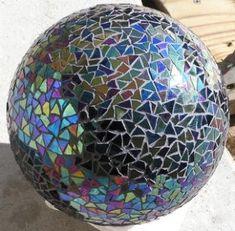bowling ball gazing ball!