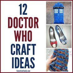 12 doctor, diy doctor who, crafti, comic con ideas, diy crafts