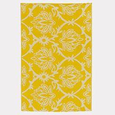yellow lotus mat 4 x 6 $19.99