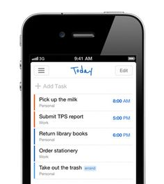 Remember The Milk for iPhone Works great with Evernote!