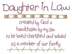 Daughter-in-law
