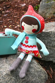 Operation Christmas Child Ideas - sew deerly loved doll. way cute!