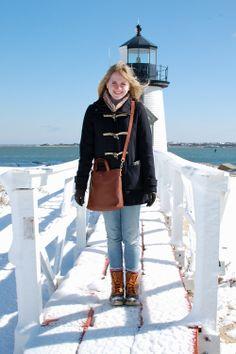 Nantucket Lighthouse and #LLBean Boots