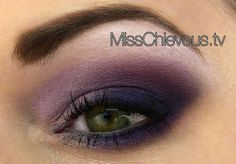 Smokey Purple Makeup using Drugstore products - follow the link for a tutorial!